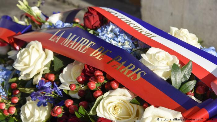 Frankreich | Gedenken an den Anschlag auf Charlie Hebdo in Paris (picture-alliance/Photoshot/C. Yichen)