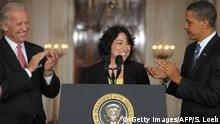 USA | Barack Obama, Joe Biden und Sonia Sotomayor