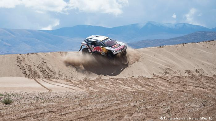 Rallye Dakar, Fahrer Stephane Peterhansel (Reuters/Marcelo Maragni/Red Bull)