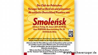 Plakat Club der polnischen Versager