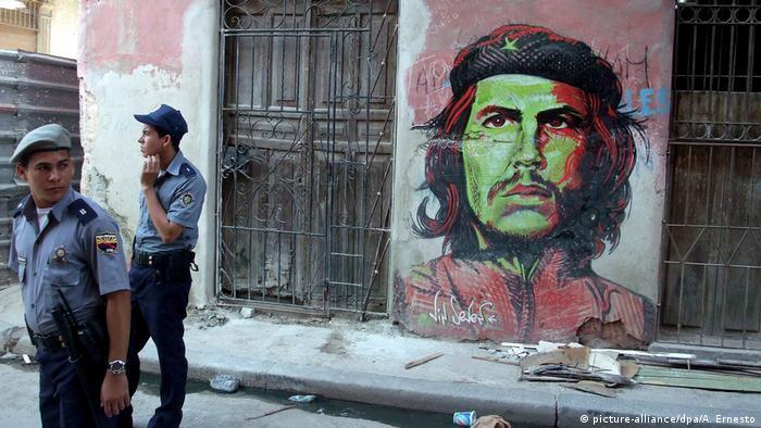 Граффити Че Гевары в Гаване