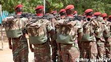 Burkina Faso Präsidentengarde Soldaten
