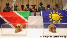 Berlin Herero Organisationen Empfang Schädel