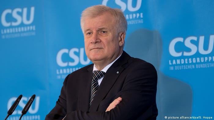 Deutschland Horst Seehofer CSU Winterklausur im Kloster Seeon (picture alliance/dpa/S. Hoppe)