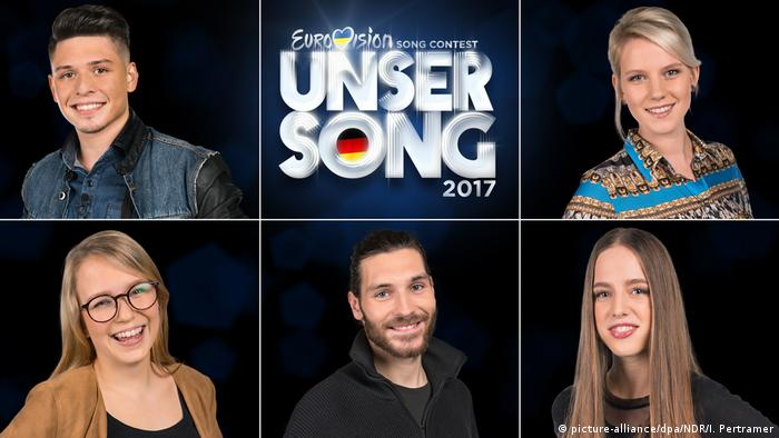 Eurovision Song Contest: candidate for the German final (picture-alliance/dpa/NDR/I. Pertramer)