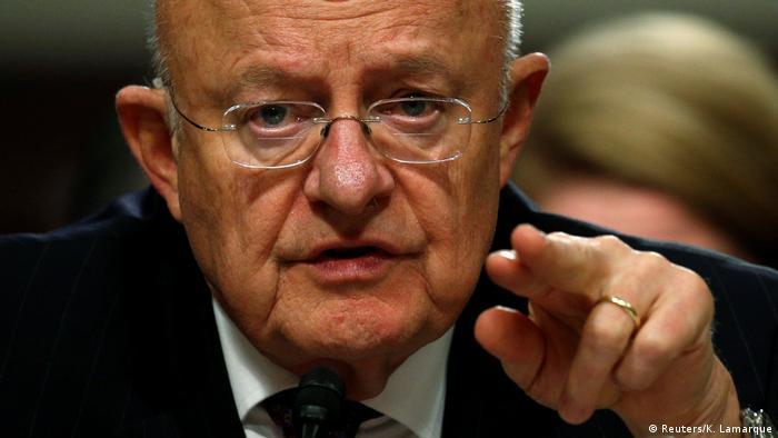 Washington Anhörung Senat James Clapper Nationaler Geheimdienstdirektor
