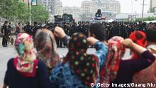 China Xinjiang Ürümqi Uiguren Protest