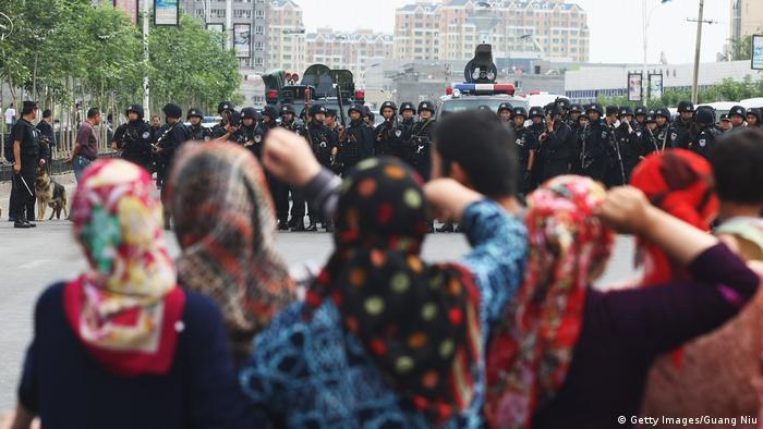 China Xinjiang Ürümqi Uiguren Protest (Getty Images/Guang Niu)