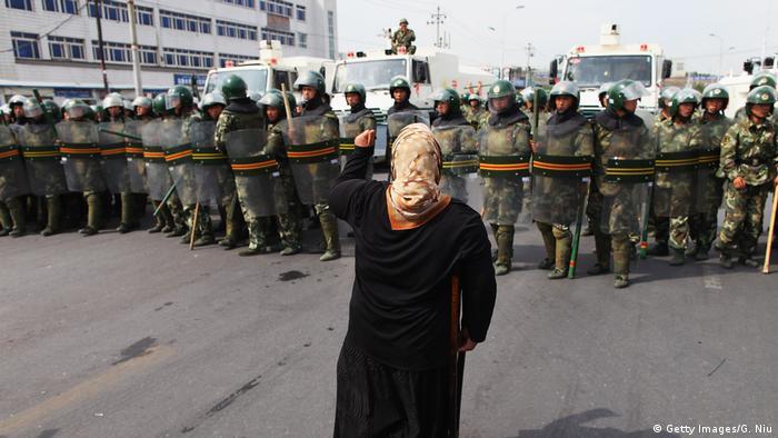 China Xinjiang Ürümqi Uiguren Protest