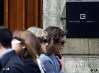 Плохие новости для вкладчиков банка Kaupthing