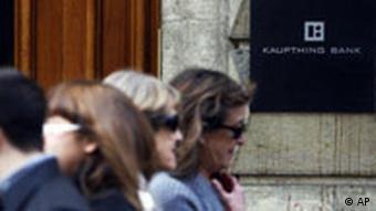 Schweiz Island Finanzkrise Kaupthing Bank in Genf