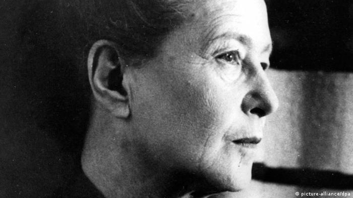 Simone de Beauvoir Schriftstellerin (picture-alliance/dpa)
