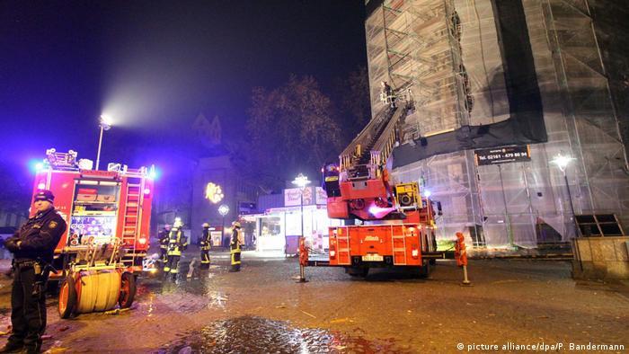 Deutschland Silvester in Dortmund