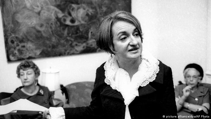 USA Betty Friedan Feminism NOW wird 50 (Foto: picture alliance/dpa/AP Photo)
