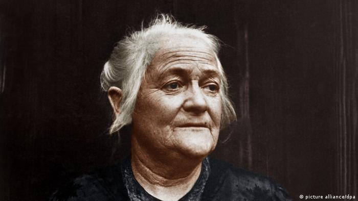 Clara Zetkin 1923 (picture alliance/dpa)