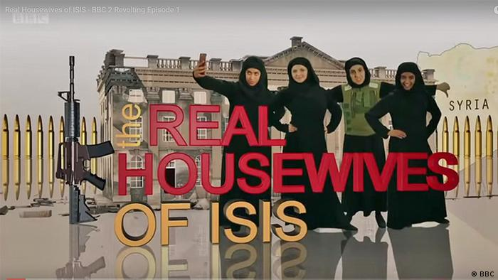 Screenshot The Real Housewifes of ISIS (BBC)