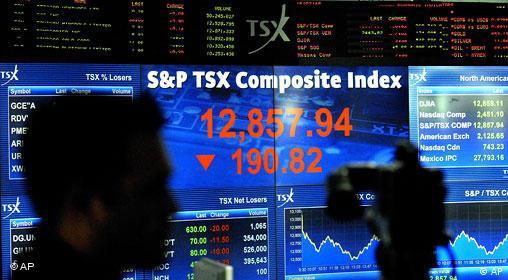Kanada Börse in Toronto