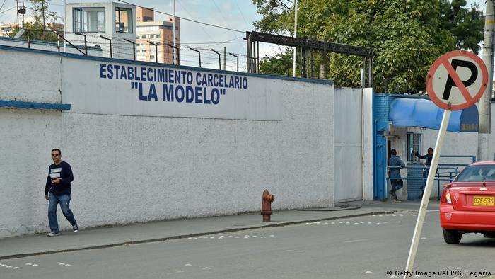La Modelo, la cárcel más populosa de Bogotá.