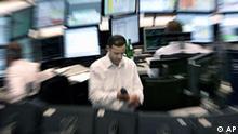 Deutschland Finanzkrise Börse in Frankfurt Ausverkauf