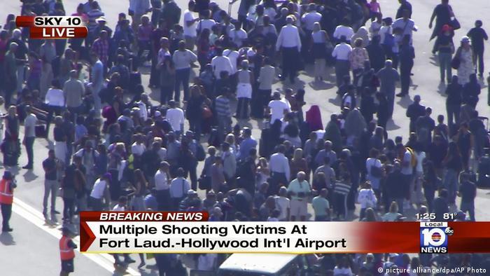 USA Schießerei auf Flughafen in Florida (picture alliance/dpa/AP Photo)