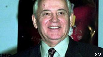 Former Soviet leader Mikhail Gorbachev