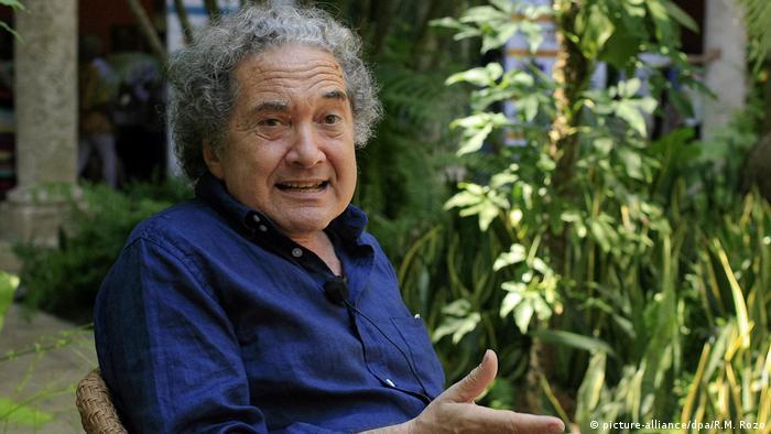 Ricardo Piglia, argentinischer Schriftsteller (picture-alliance/dpa/R.M. Rozo)
