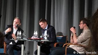 Berlin Premiere des Films Smolensk - Diskussion