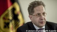 Deutschland Verfassungsschutzpräsident Hans-Georg Maaßen