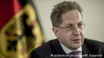 Head of the German Office for the Protection of the Constitution, Hans-Georg Maaßen.