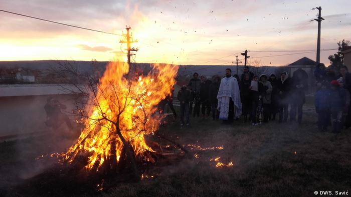 Bosnien und Herzegowina Blagaj - Orthodoxe Weihnachten