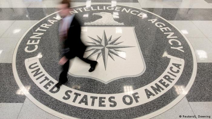 USA Lobby der CIA Hauptquartier in Langley, Virginia (Reuters/L. Downing)