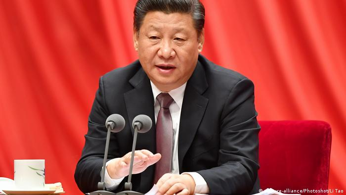 China Peking Präsident Xi Jinping (picture-alliance/Photoshot/Li Tao)