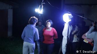 Äthiopien Addis Abeba - Drama Filmarbeiten