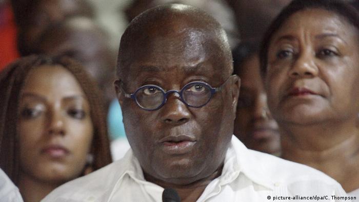 Afrika Ghana - Nana Akufo-Addo gewinnt Präsidentschaftswahl