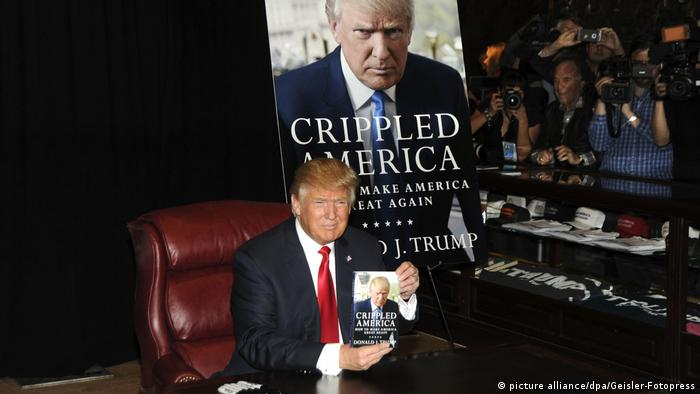 USA Donald Trump Buchpräsentation in New York (picture alliance/dpa/Geisler-Fotopress)