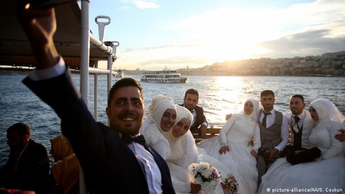 Türkei türkische Hochzeit