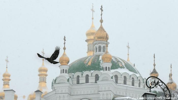 Церковные купола в Киеве