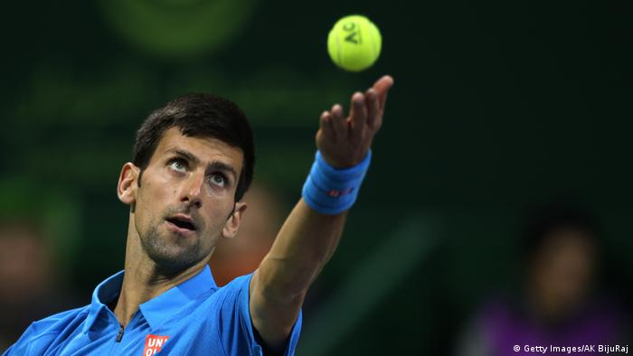Doha Tennis-ATP-Turnier in Katar Djokovic gegen Murray (Getty Images/AK BijuRaj)