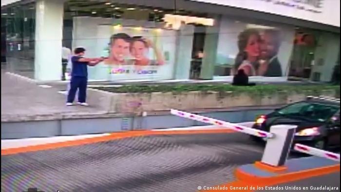 Mexiko US-Konsulatsmitarbeiter in Guadalajara angeschossen (Consulado General de los Estados Unidos en Guadalajara)