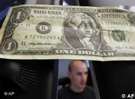 Karikatura dolara gdje se George Washington drži za glavu