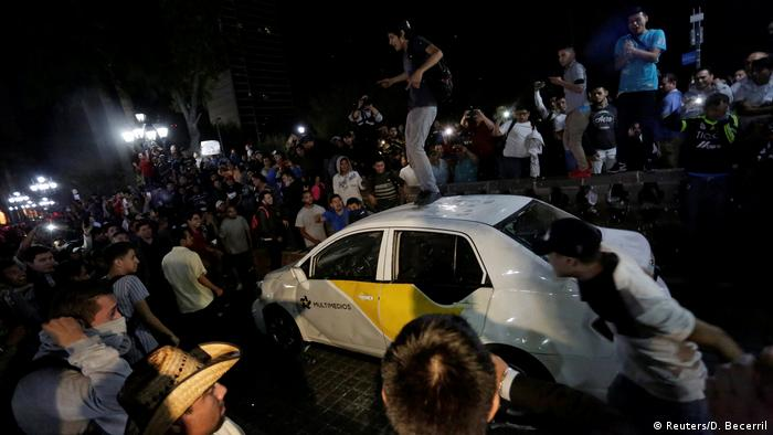 Mexiko Erneute Proteste gegen hohe Benzinpreise