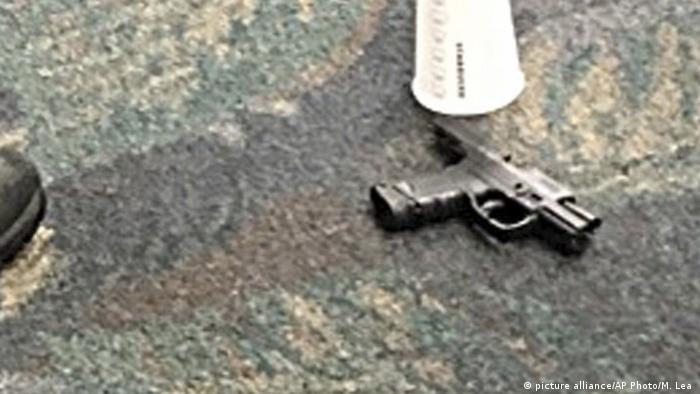 سلاحی که استبان سانتیاگو در حمله مرگبار فرودگاه لادردیل به کار برده بود