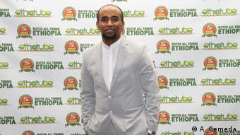 USA -Fugera News Satireprogramm von EthioTube: Alemayehu Gemeda, co-founder von EthioTube