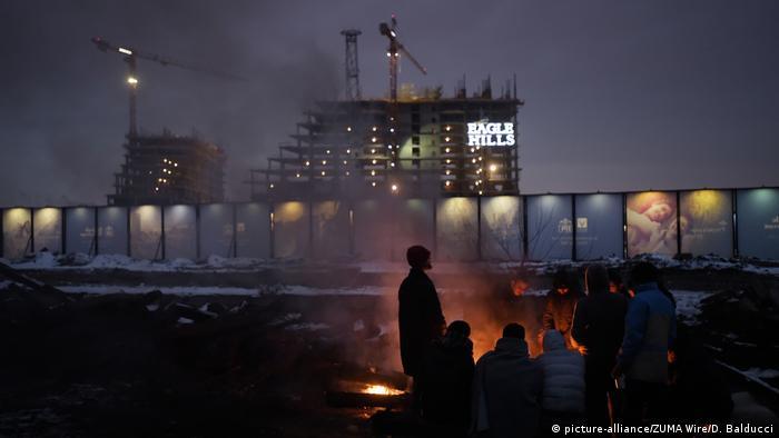 Refugees in Belgrade (picture-alliance/ZUMA Wire/D. Balducci)