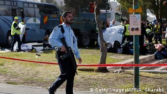 Israel LKW-Anschlag in Jerusalem