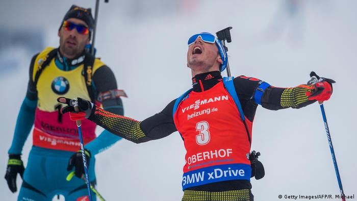 Biatlon Worldcup 2017 - Simon Schempp (Getty Images/AFP/R. Michael)