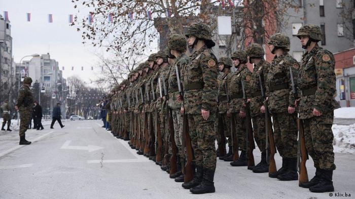 Bosnien-Herzegowina - Tag der Republika Srpska in Banja Luka