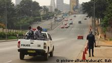 Abidjan - Ivory Coasts Soldaten in Pickup