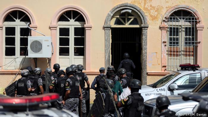 Brasilien Mindestens vier Tote bei erneuter Revolte in Haftanstalt in Brasilien (REUTERS/M. Dantas)