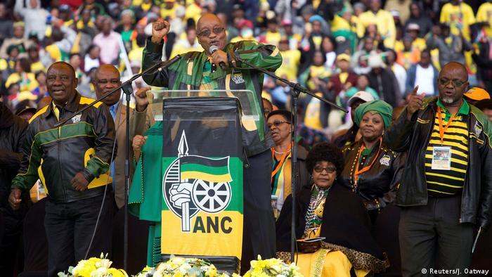 Südafrika Zuma hält Rede im Orlando Stadion in Soweto